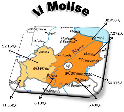 モリーゼ州について1