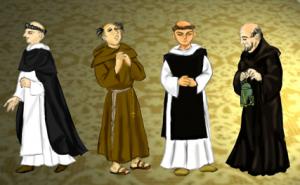 修道士の見分け方